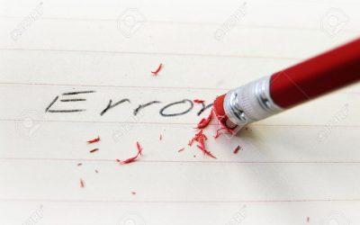 Le droit à l'erreur