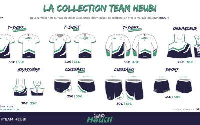Les tenues Team Heubi