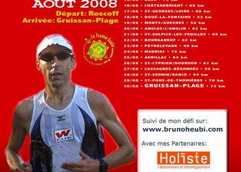 Transe Gaule : le plan d'entraînement de juin 2008