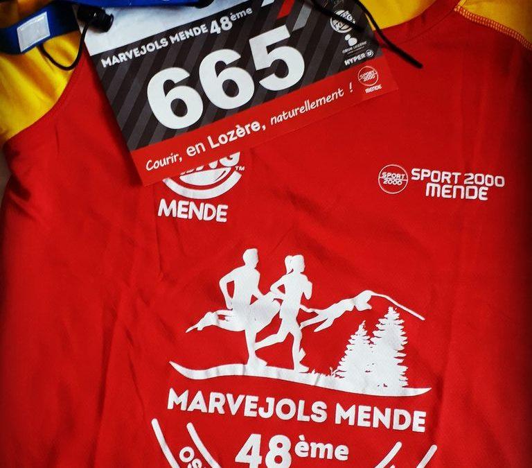 Marvejols-Mende : j'ai couru le légende